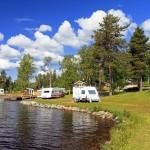 Camping i Vilhelmina, Västerbotten