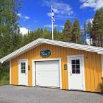 Miljöstation på Kolgårdens Camping