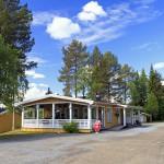 Servicehuset på Kolgårdens Camping i Vilhelmina